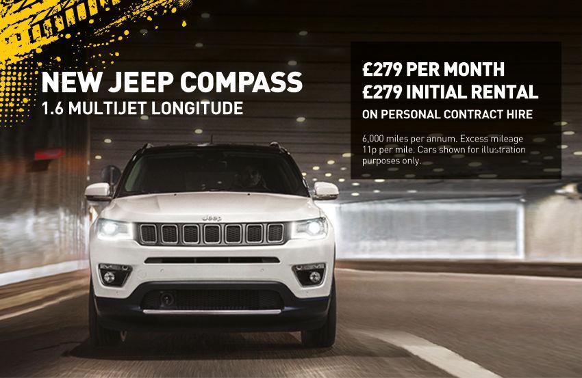 Jeep Compass Longitude PCH