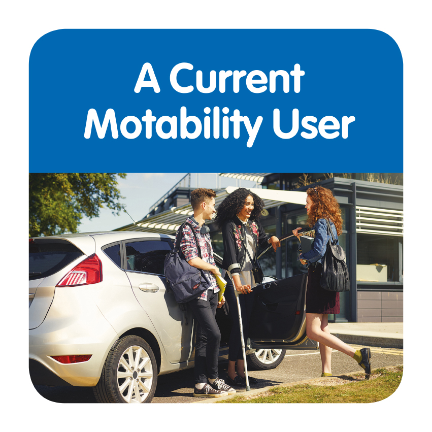 Guide for Exisiting Motability Customers