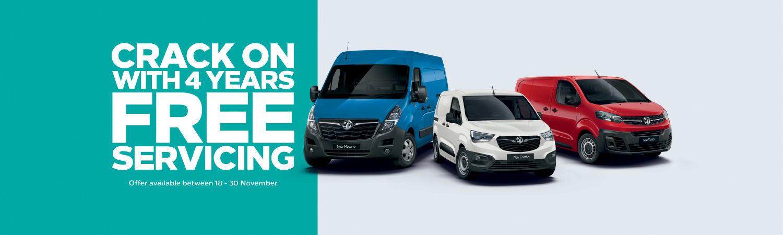 Vauxhall Van Sales Event
