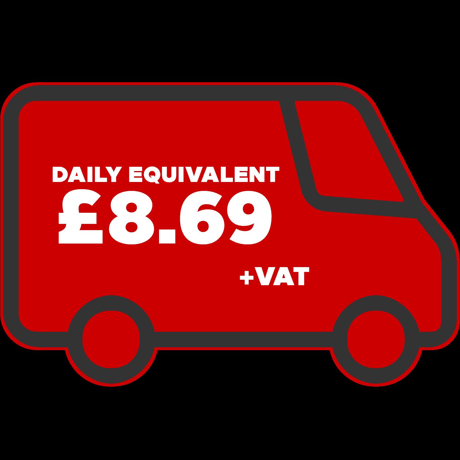 Vauxhall Vivaro Daily Equivalent