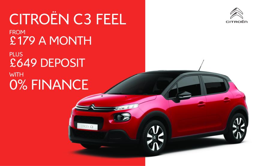 New C3 0% Finance offer