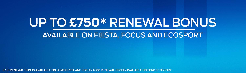 Ford Privilege Renewal Bonus Offer