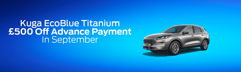 Ford Kuga Titanium Offer
