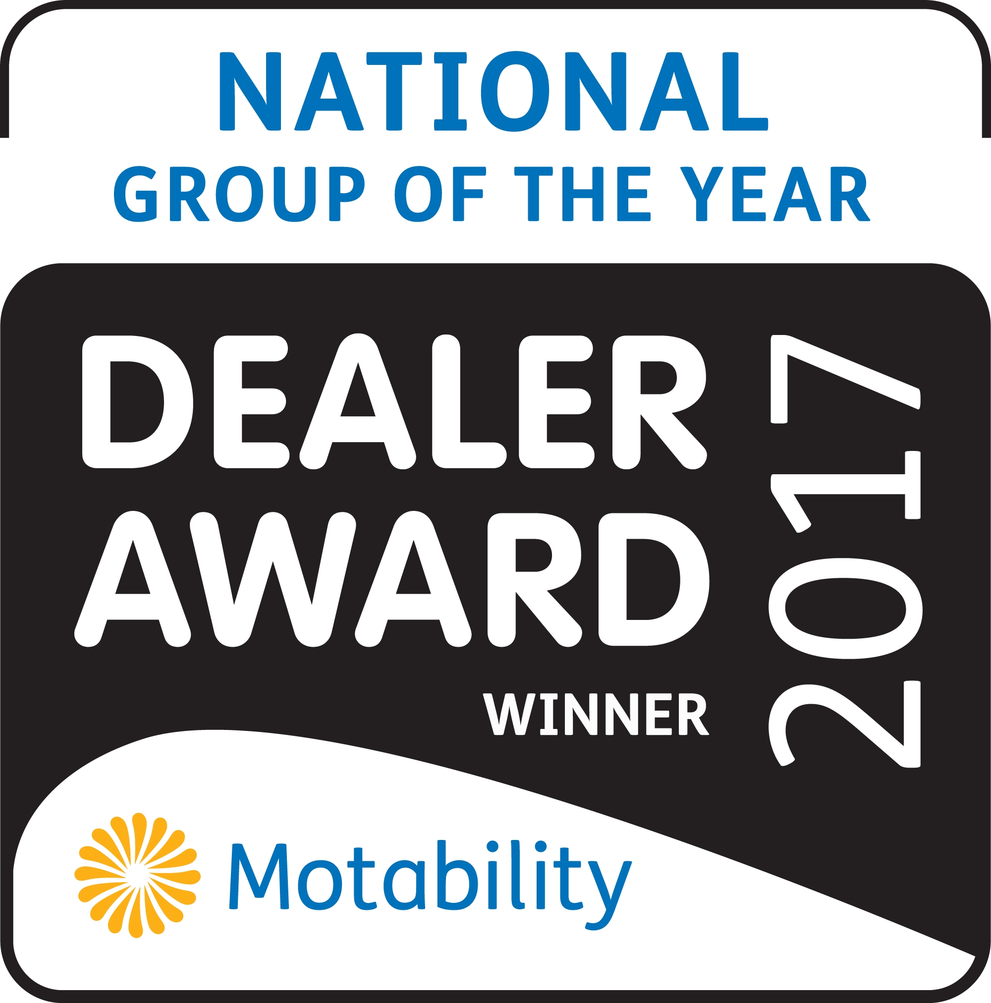Motability Dealer Group Of The Year Award 2018