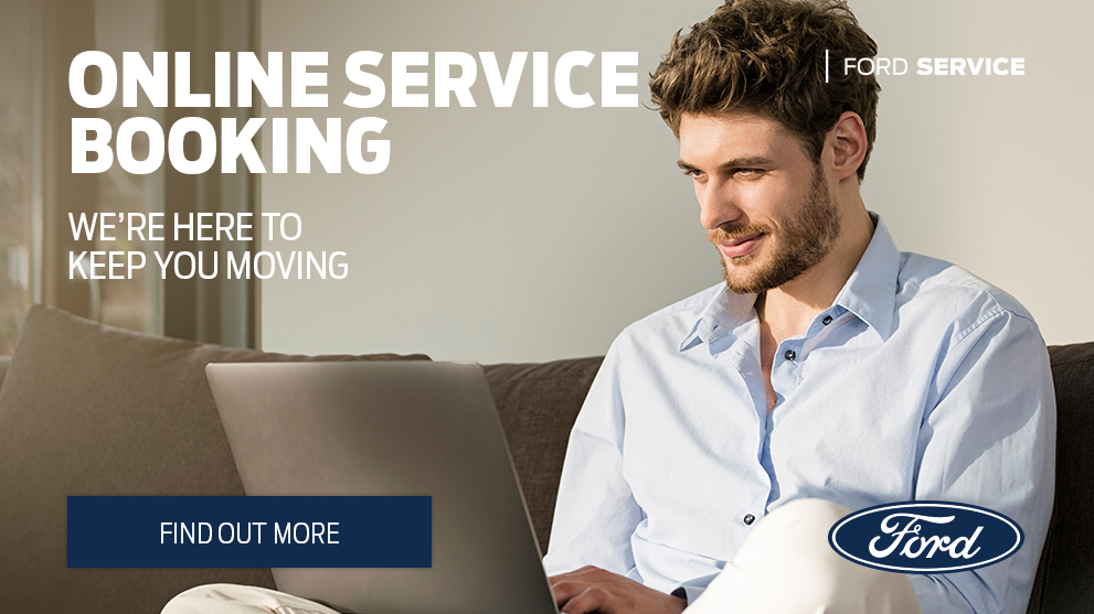 Ford Online Service Booking