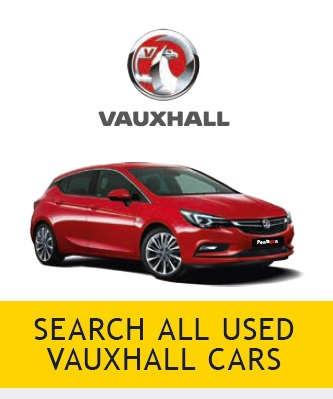 Search Vauxhall Used Cars