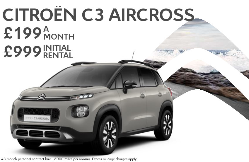 Citroen C3 Aircross PCH Offer