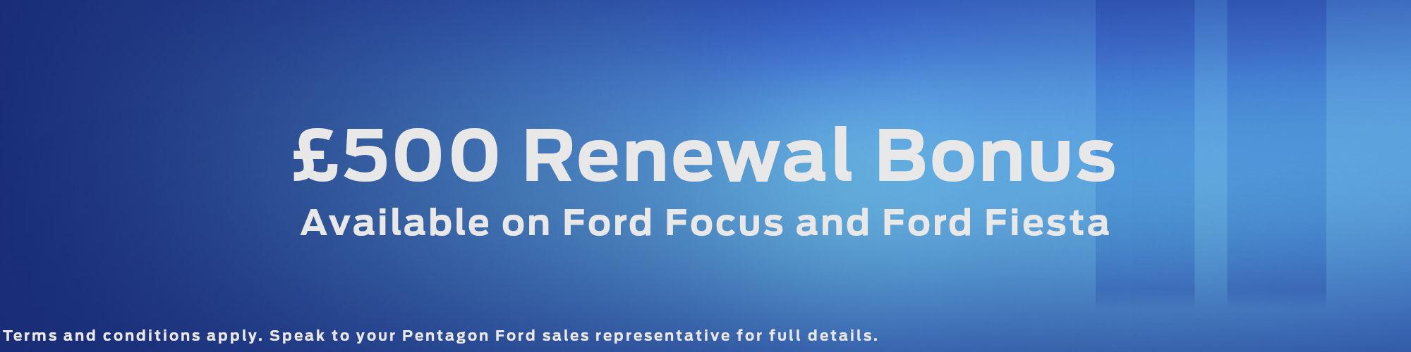 Ford Renewal Bonus