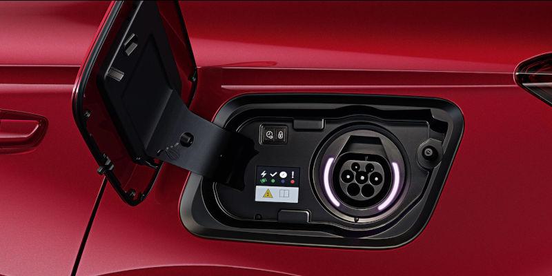 Vauxhall Grandland X Hybrid4 Charging Port
