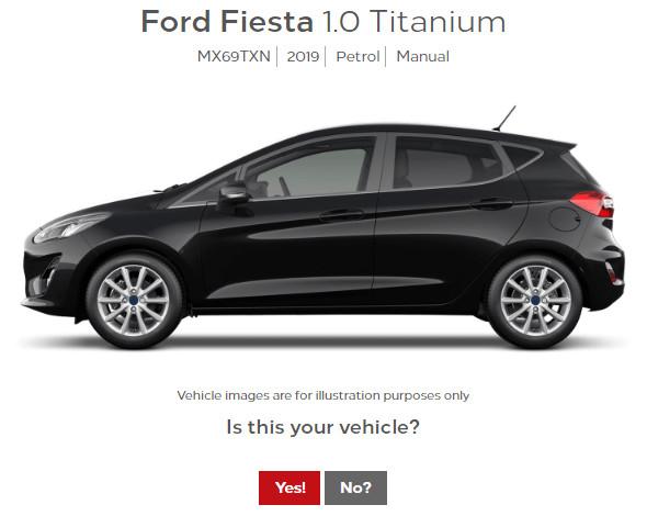 Ford Fiesta Part Exchange